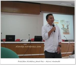 diskusi bareng Azrul Ananda