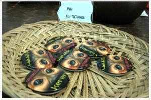 pin untuk donasi