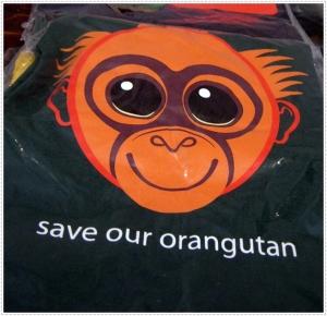 save our orangutan